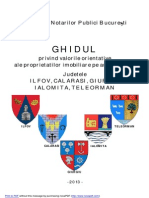 Grila Notariala Preturi ILFOV