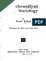 Psychoanalysis a 00 Paul Goog