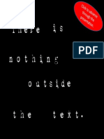 There is Nothing Outside the Text