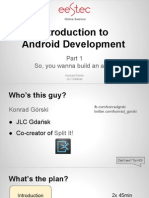 Android Development - Part 1