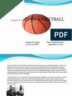 My Presentation of basketball