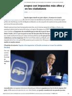 España, El País Europeo Con Impuestos Más Altos y Que Menos Gasta en Los Ciudadanos - La Otra Cara de La Moneda