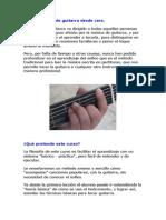 Aprende Guitarra Desde Cero