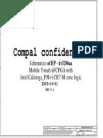 Hp Dv5296ea - Compal La-3011