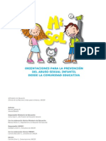 Programa Preventivo Mi Sol UNICEF - MINEDUC