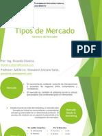 Ricardo Silveira Tipos de Mercado