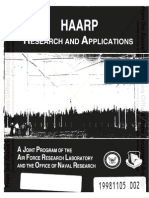 HAARP Research and Applications