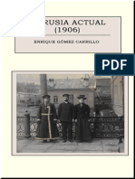 Gomez Carrillo Enrique - La Rusia Actual - 1906