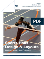 Sports Halls - Design and Layouts 2012