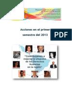Actividades de los Diplomados en DDHH