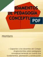 Presentación de la pedagógia conceptual