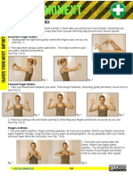 Safety Moment Hand Exercise