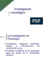 La Investigacion Psicolgica