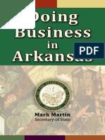 Doing Business in Arkansas