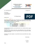 Surat Pesanan Barang