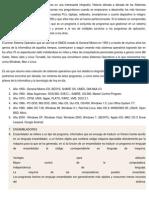 La Evolución de Los Sistemas Operativos en Una Interesante Infografía
