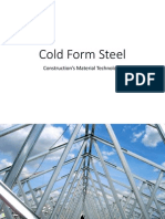 10 Cold Form Steel