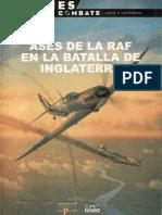 Aviones en Combate - Ases de La RAF en La Batalla de Inglaterra (Ediciones Del Prado)