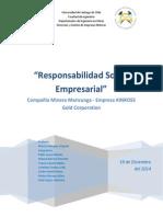 Trabajo N_3 _Responsabilidad Social Empresarial_ KINROSS Gold Corporation.
