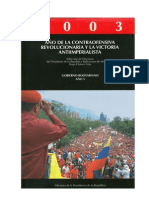 CHAVEZ H - Discursos 2003