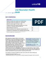Maternal and Neonatal Health