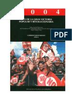 CHAVEZ H - Discursos 2004