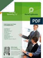 Flyer Leergang Marketing 2.0