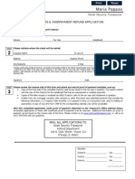 Duplicate or Overpayment of Taxes Form