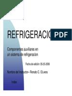 Componentes Sistema de Refrigeracion