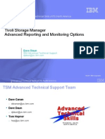TSM Advanced Reporting and Monitoring