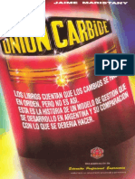 El Caso Unión Carbide - Jaime Maristany