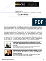 Famous Economists - List & Biographies of World Famous Economists