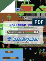 2010 Calendar Commodore 64 games (sun2sat)