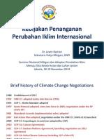 (Laswin)Kebijakan Penanganan Perubahan Iklim Internasional.ppt