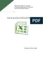 Guia de Ejercicios de Excel