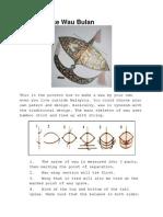 How to Make Wau Bulan