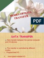 10 Modes of Data Transfer