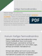 Kimia Fisika Termodinamika 3