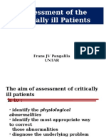 Assessment of the Critically Ill Patients