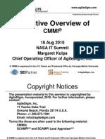 482612main 2010 Tuesday 4 Cmmi Kulpa Margaret Executive Overview of CMMI v1.4b