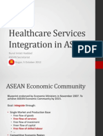 Healthcare Sector Liberalization in ASEAN