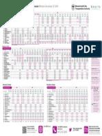 Newburyport/Rockport Line New Schedule