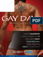 Gay Days 2009 Magazine
