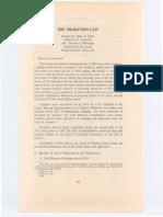 Probation Law Article by Cruz