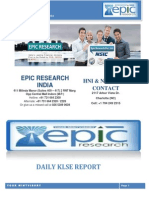 Epic Research Malaysia - Daily Klse Malaysia Report of 22 December 2014