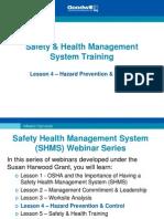 4-Hazard Prevention Control