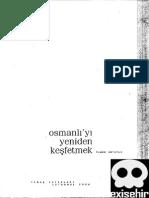 Ilber Ortayli - Osmanli-yi Yeniden Kesfetmek-1