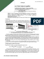 Burst-Mode Optical Amplifier
