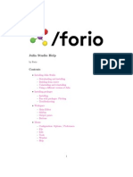 Julia Studio / Forio files