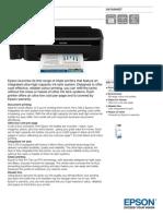 Epson L100 Datasheet